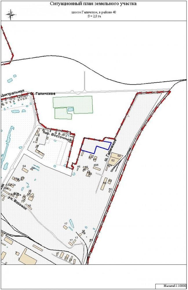 Как сделать ситуационный план на земельный участок 481